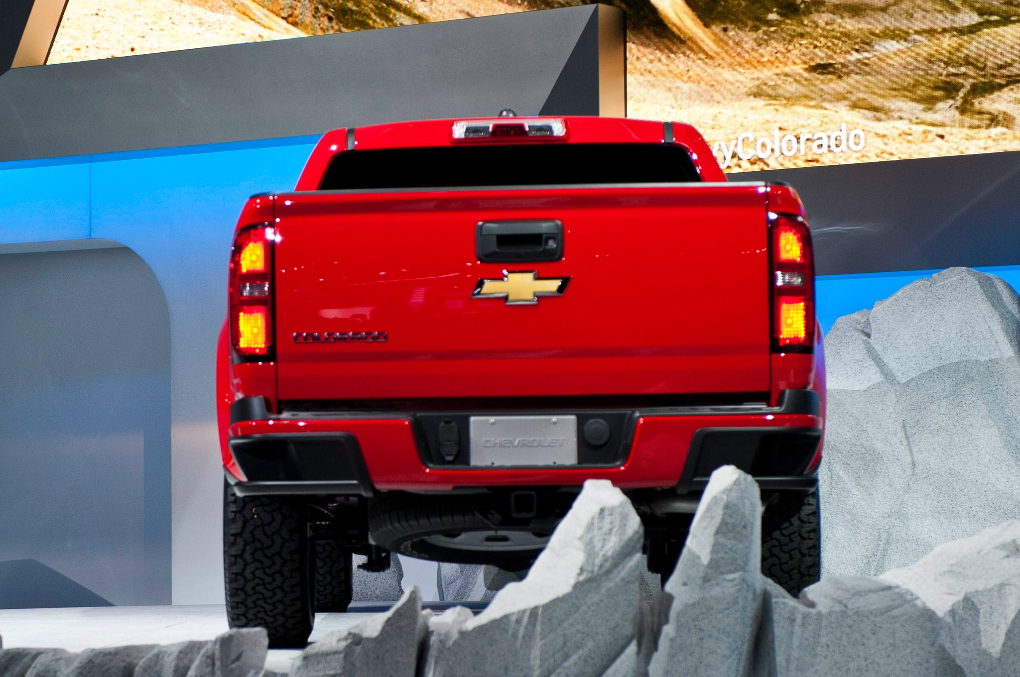 2015 Chevrolet Colorado rear profile