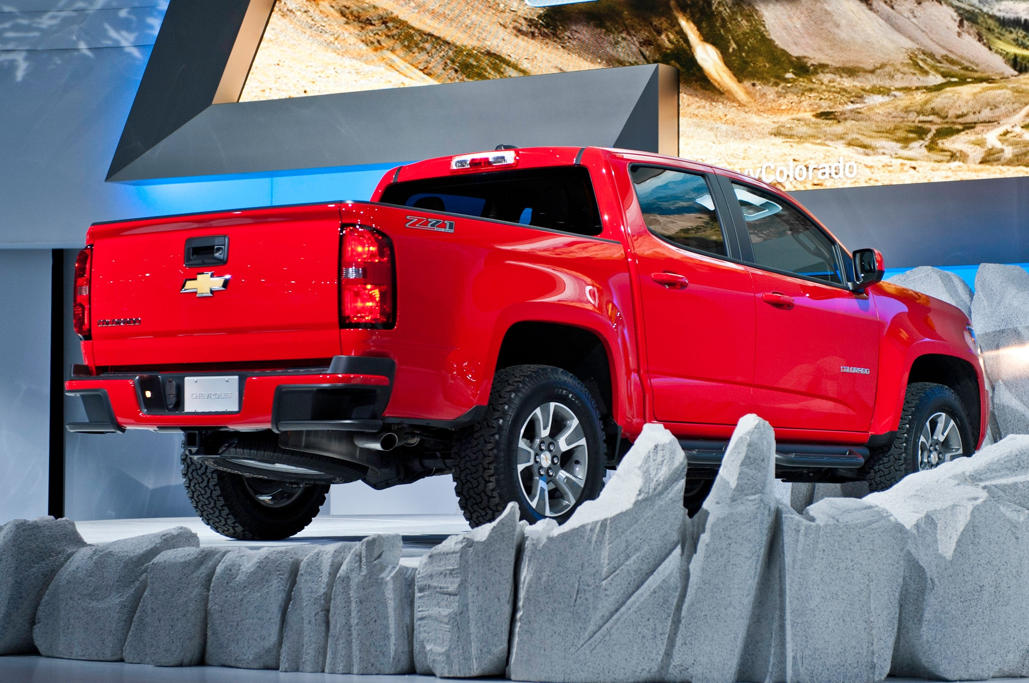 2015 Chevrolet Colorado rear view