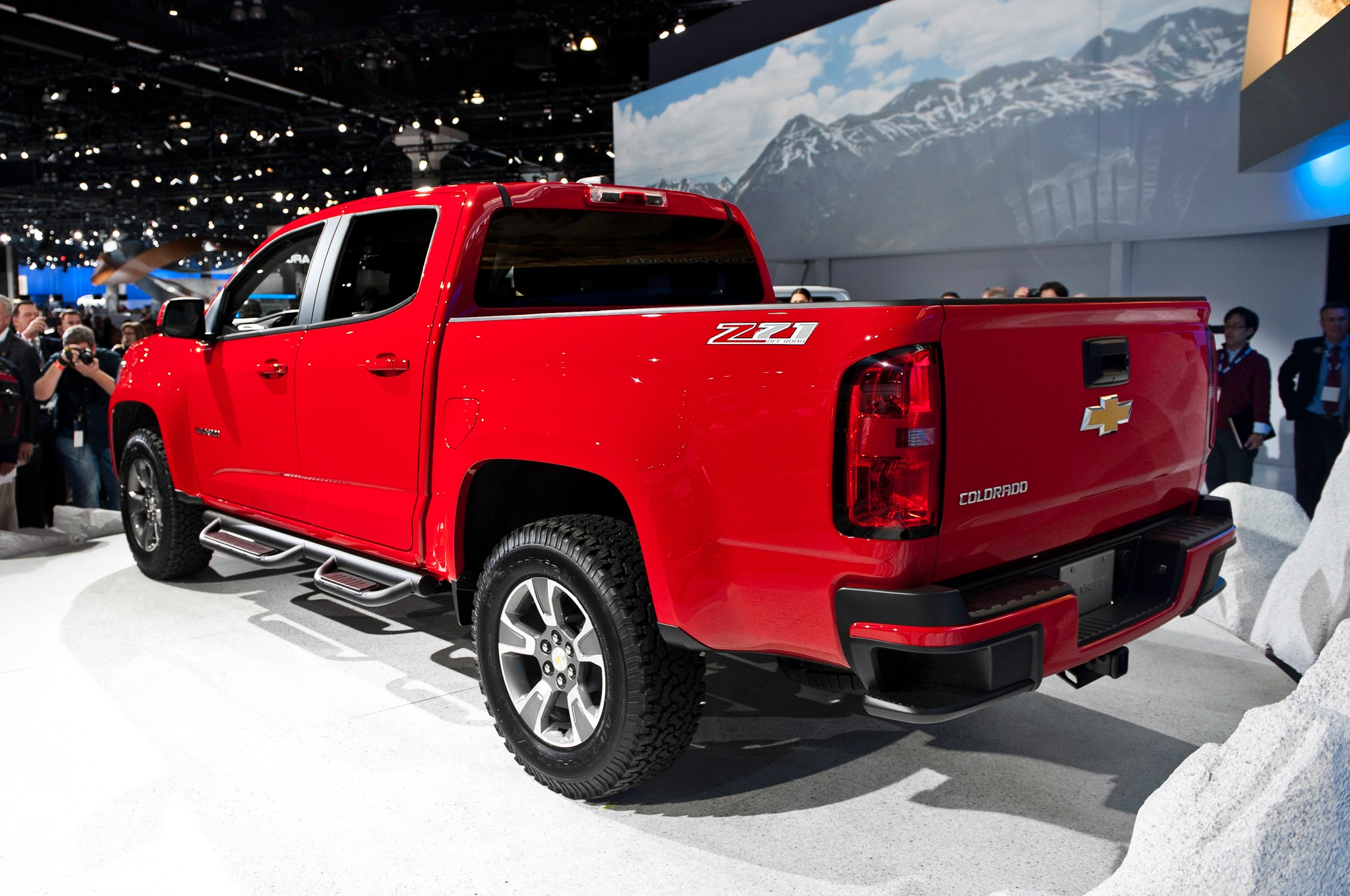 2015 Chevrolet Colorado rear