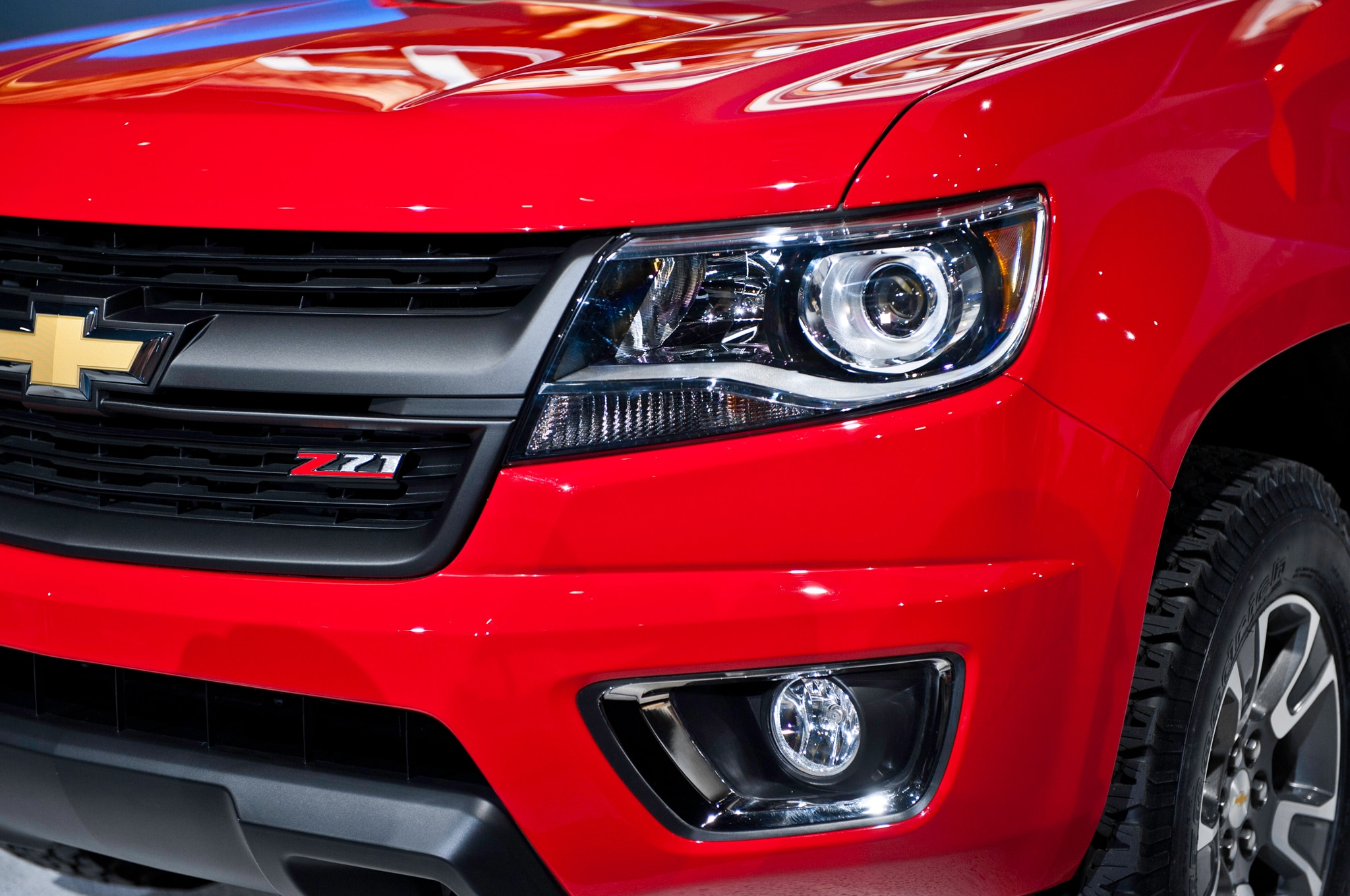 2015 Chevrolet Colorado headlight