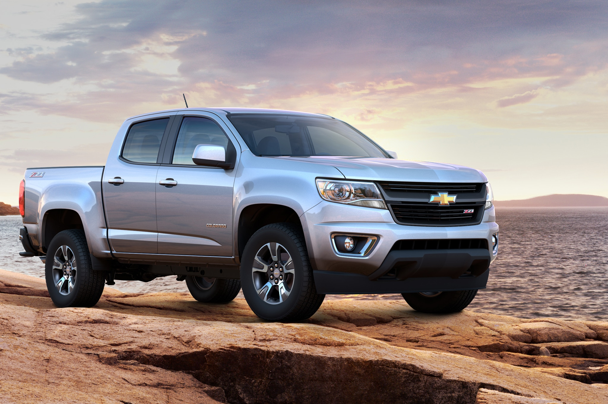2015 Chevrolet Colorado Z71 front