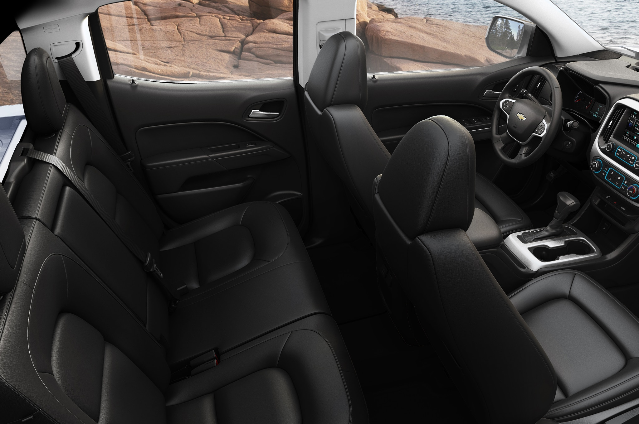 2015 Chevrolet Colorado seats