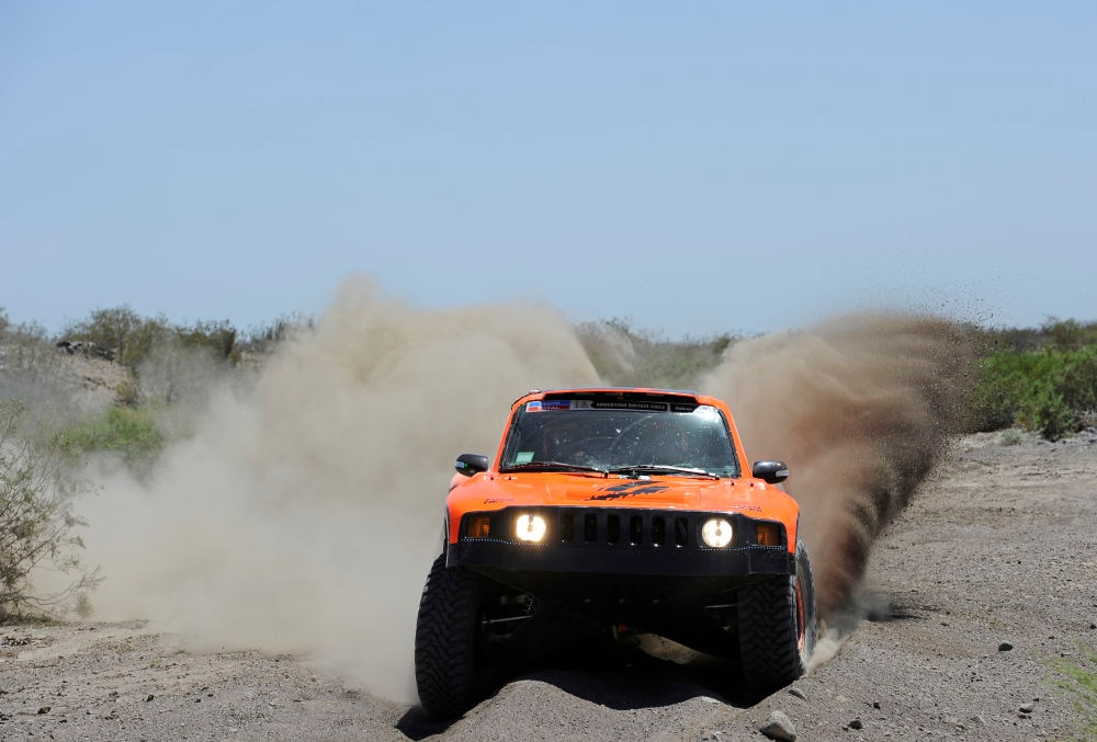 dakar 2014 day 2 robby gordon