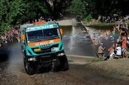 dakar 2014 iveco water crossing