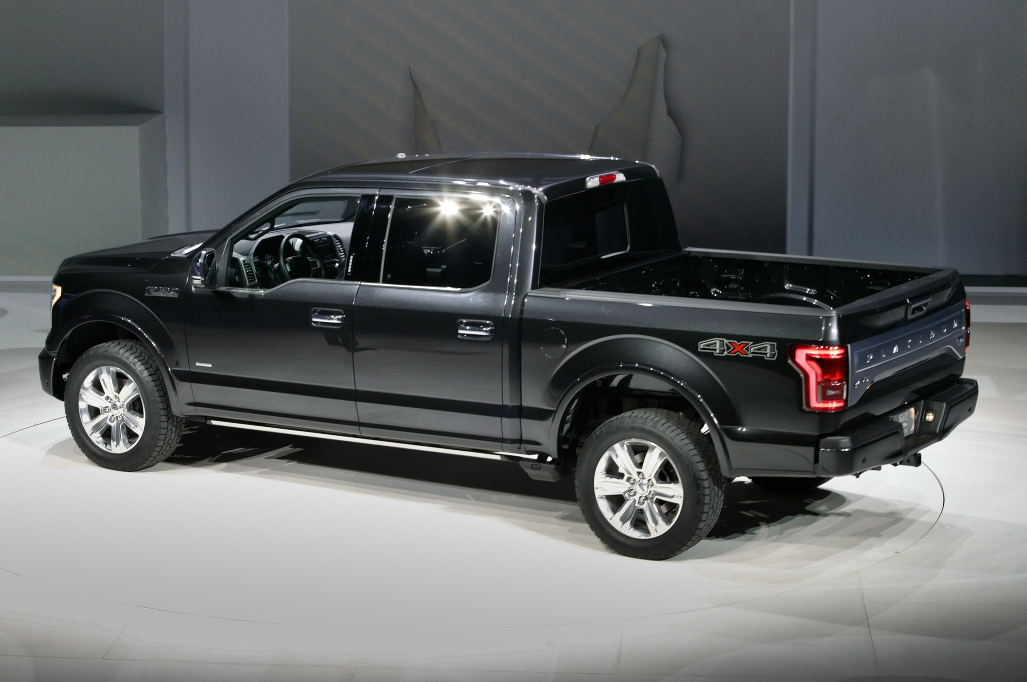 2015 Ford F 150 in Detroit side rear view