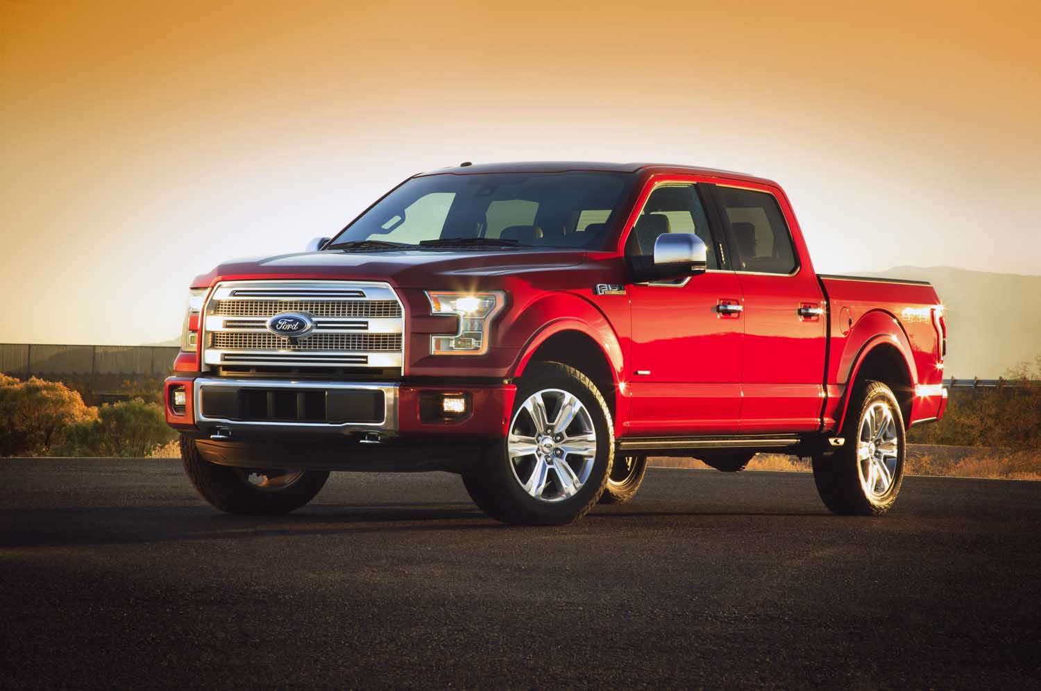 2015 Ford F 150 Front Three Quarter