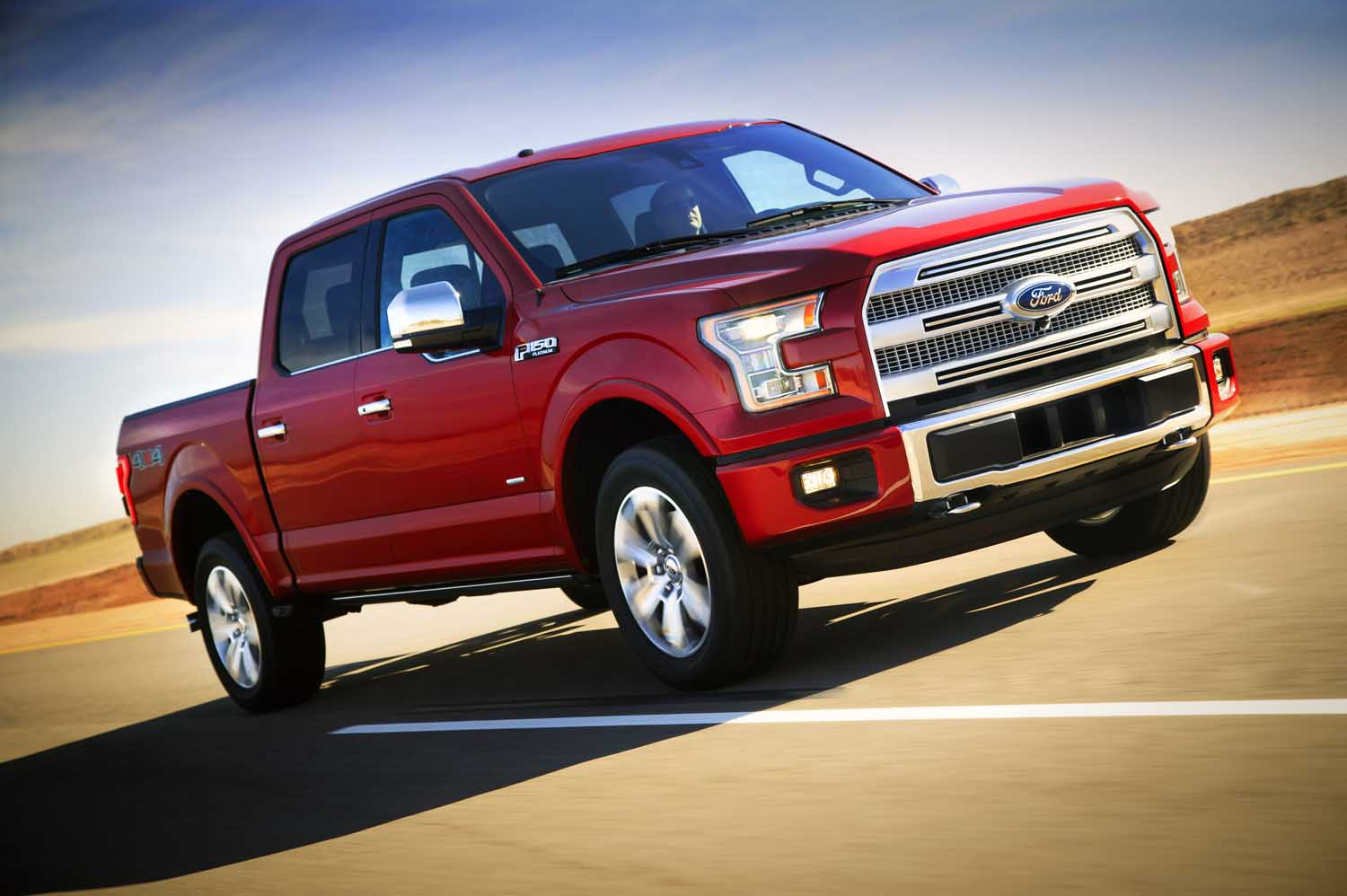 2015 Ford F150  2  On The Road