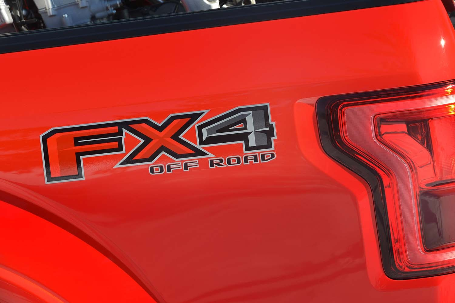 2015 Ford F150 FX4  2  FX4 Decal