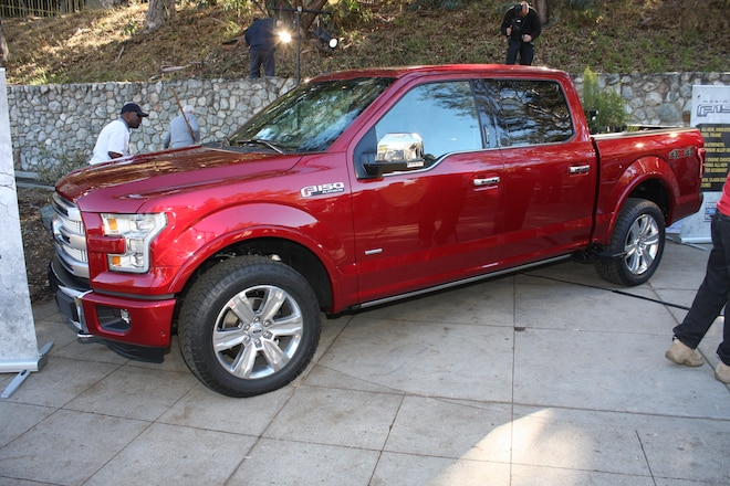 Ford Unveils the 2015 F-150 in LA