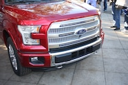 2015 Ford F150 unveiling la river 27 front end