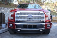 2015 Ford F150 unveiling la river 29 front end