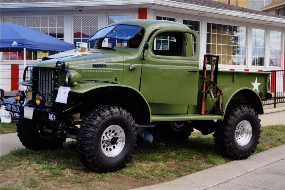 1941 DODGE CUSTOM 4X4 PICKUP lot 446 barrett jackson 2014