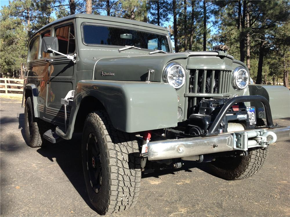 1960 WILLYS CUSTOM STATION WAGON lot 463 barrett jackson 2014