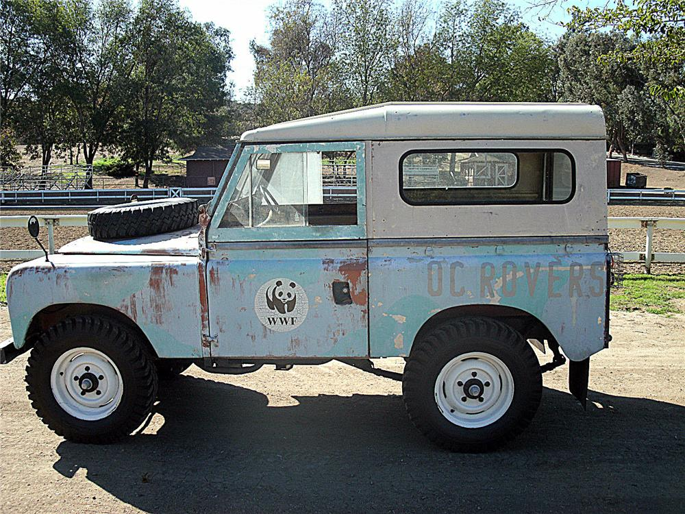 1967 LAND ROVER SERIES IIA SUV lot 422 barrett jackson 2014