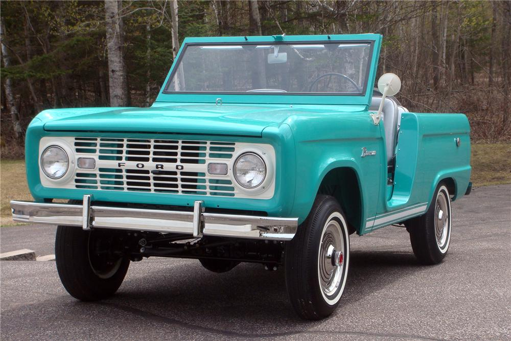 1966 FORD BRONCO ROADSTER lot 374 barrett jackson 2014