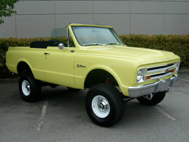 1972 CHEVROLET BLAZER 4X4 lot 445 barrett jackson 2014