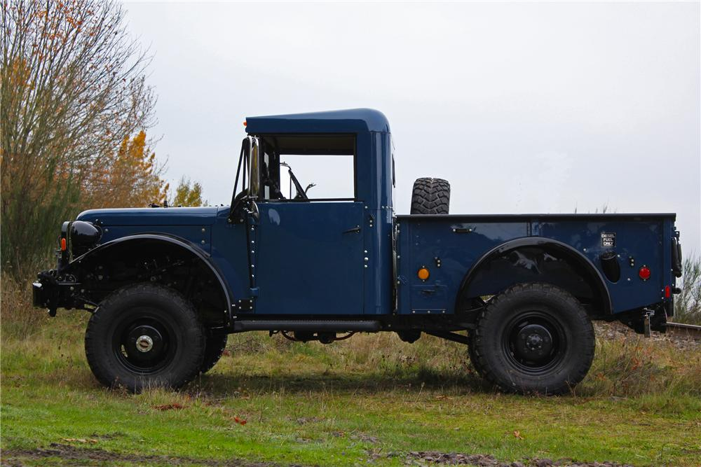 1962 Dodge Power Wagon M37B1 Pickup profile
