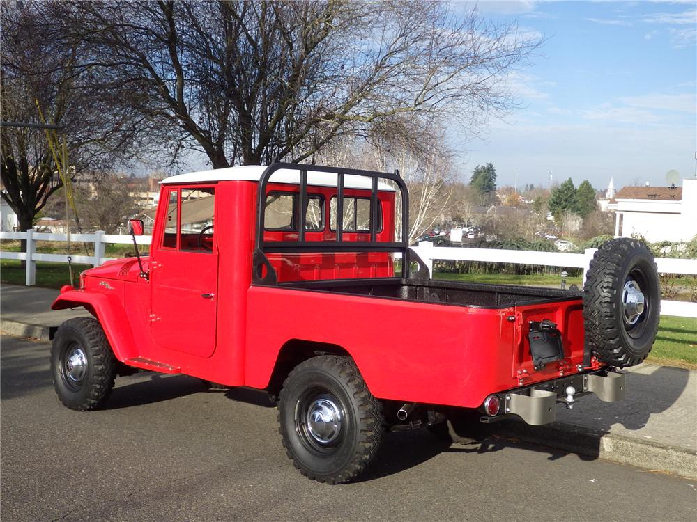 1963 Toyota FJ45 Pickup rear three quarter