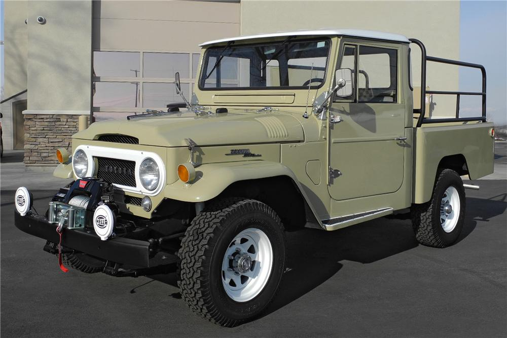 1966 TOYOTA LAND CRUISER FJ 45 PICKUP lot 925 1 barrett jackson 2014