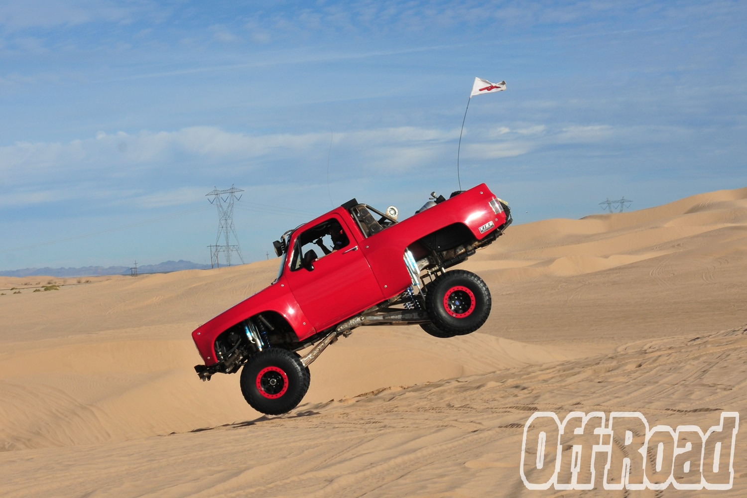 1991 GMC K5 Jimmy Glamis Off Road Magazine Cover Shoot 7