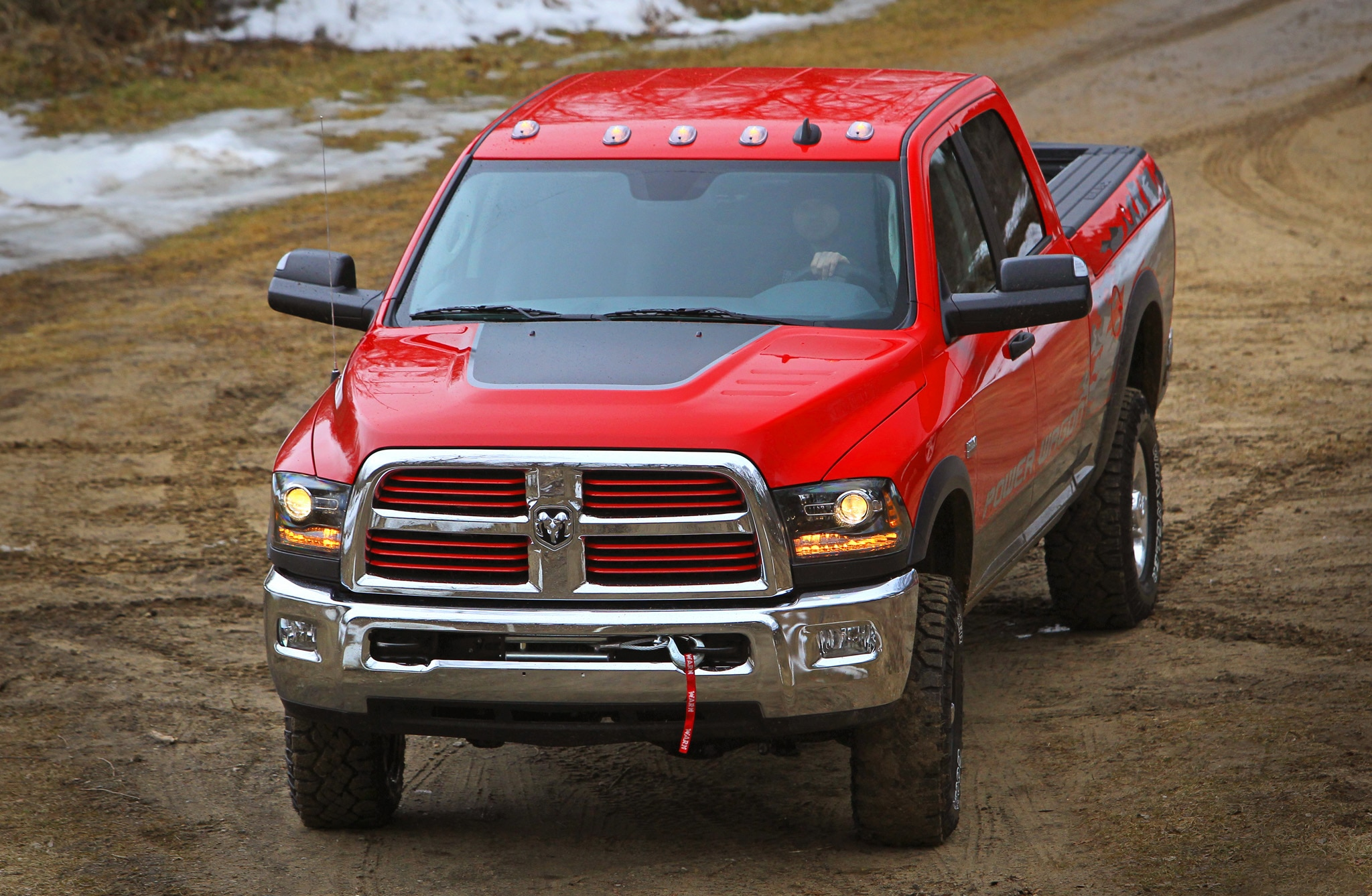 2014 Ram 2500 Power Wagon front end 02