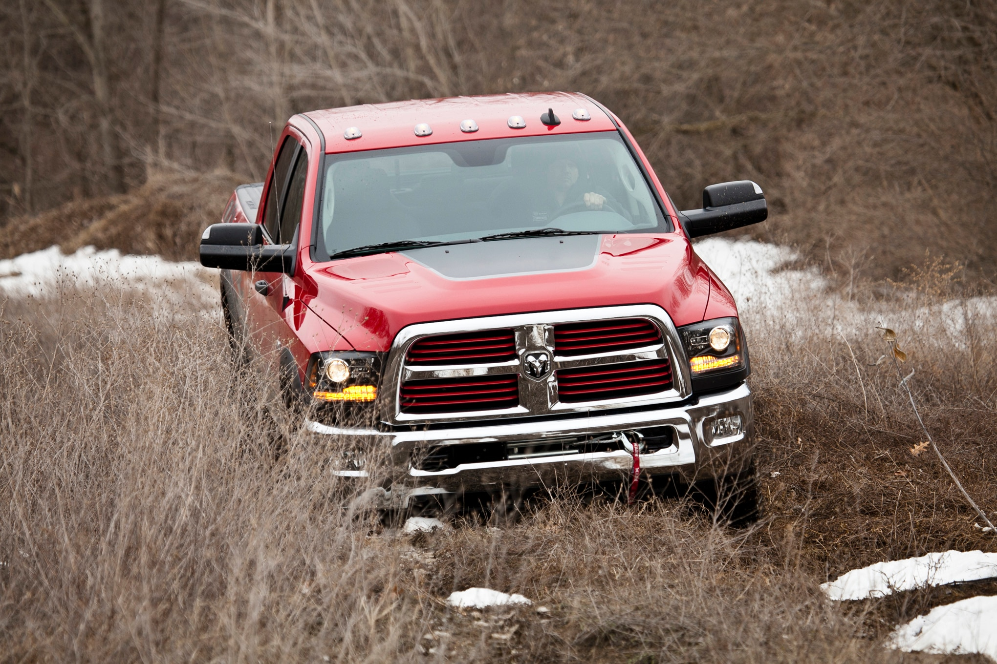 2014 Ram 2500 Power Wagon front end downward