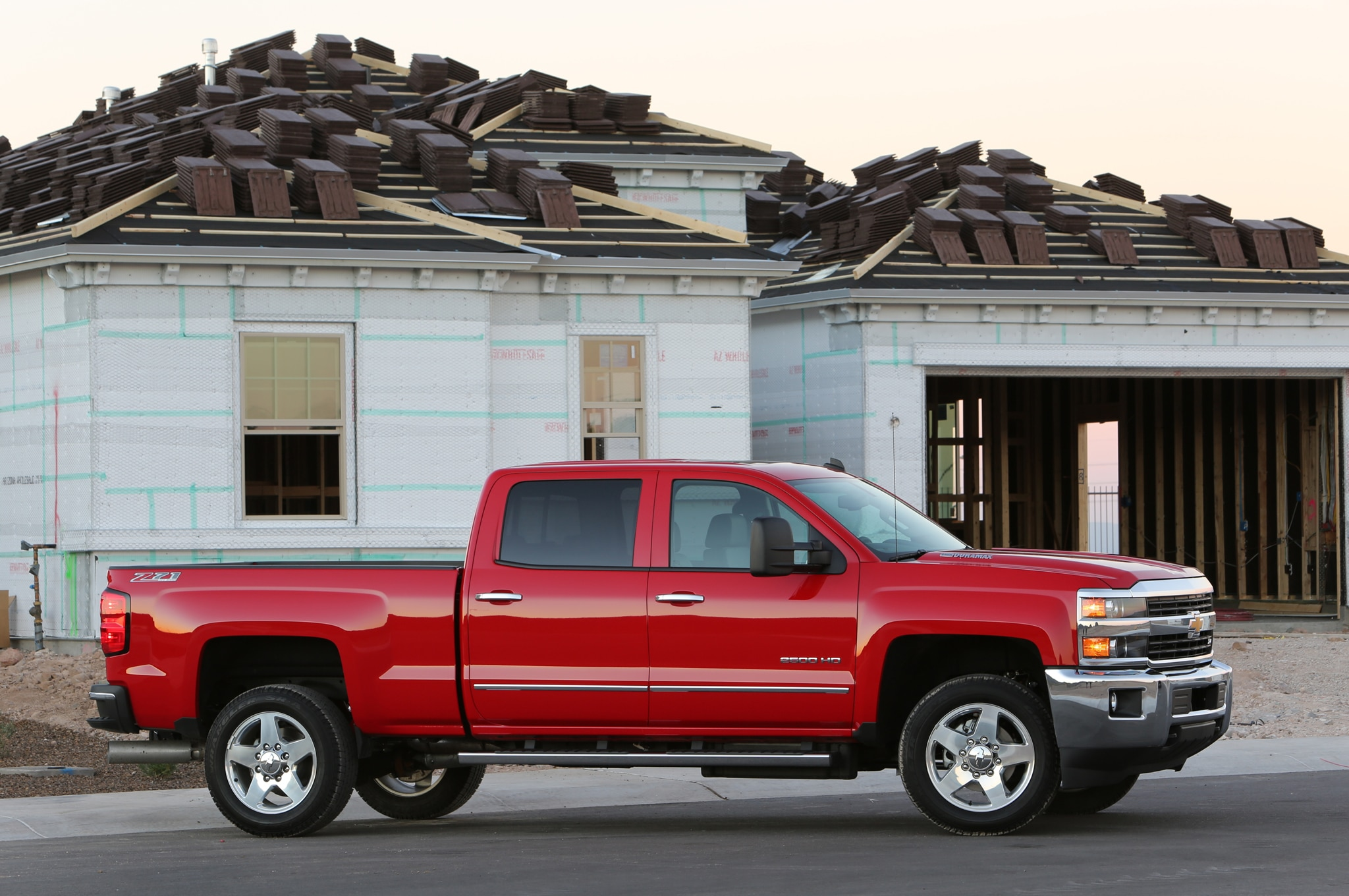 2015 Chevrolet Silverado 2500HD LTZ front side view