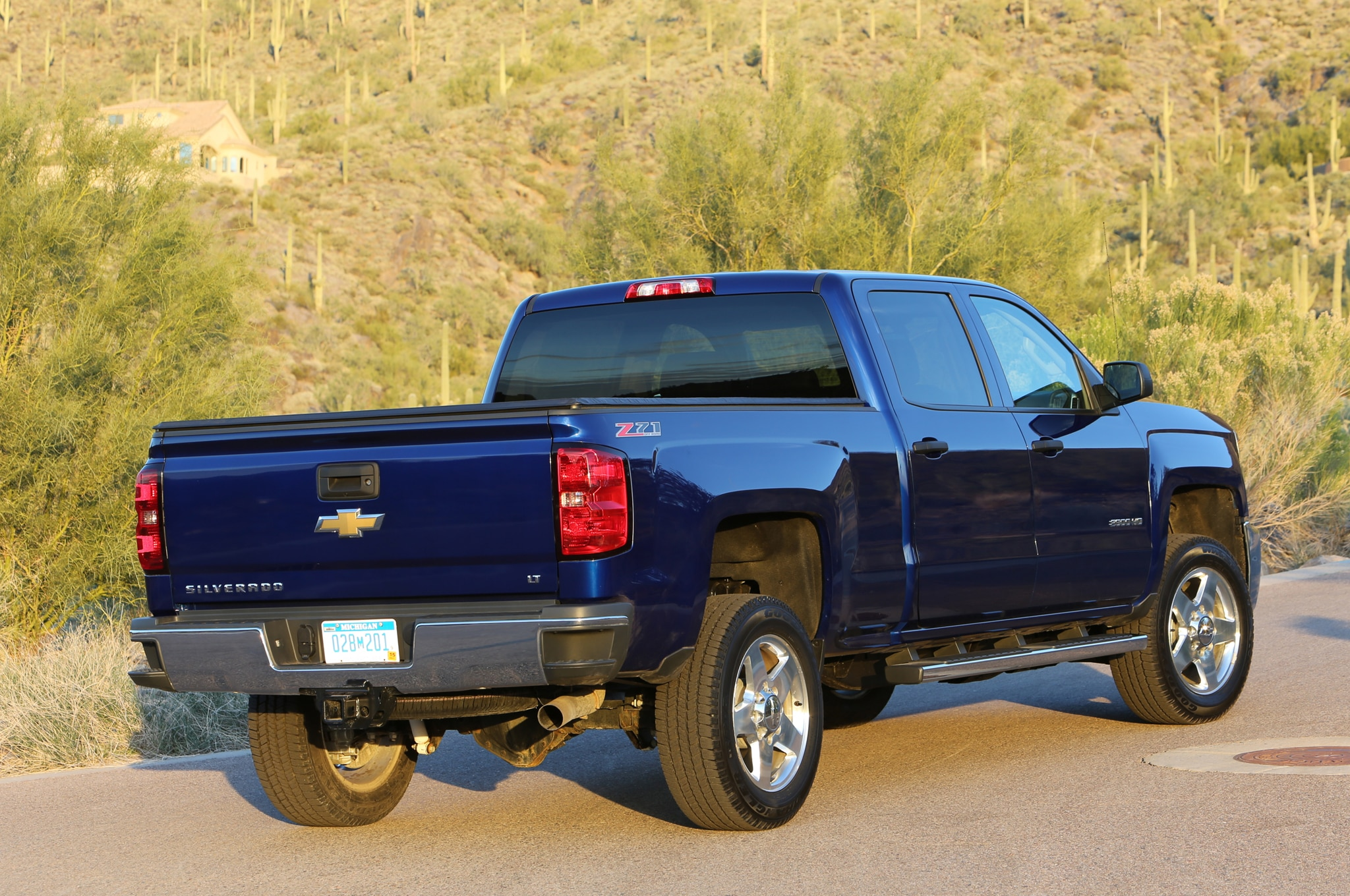 2015 Chevrolet Silverado 2500HD LT rear view