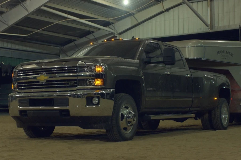 2015 chevrolet silverado hd trailer