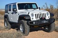 2014 Jeep Rubicon X front three quarter