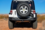 2014 Jeep Rubicon X rear