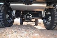 2014 Jeep Rubicon X rear suspension