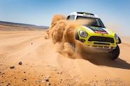 2014 Dakar Rally Mini All4 Racing  1  kicking up sand