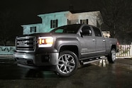 2014 GMC Sierra SLT Front Driver Three Quarters