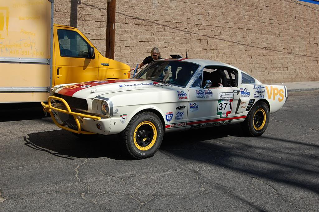 1965 Ford Mustang Fastback NORRA 1000 Race Car