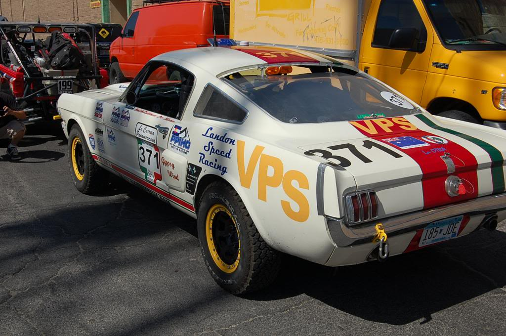 1965 Ford Mustang Fastback NORRA 1000 Race Car rear three quarter