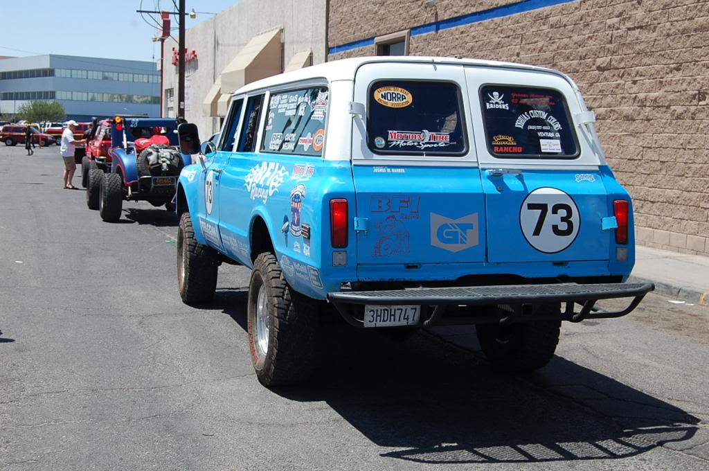 1969 Chevy Suburban NORRA 1000 Race Truck rear