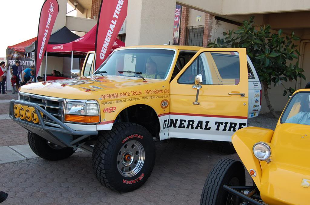 1984 Ford Bronco Retro Race Truck General Tire NORRA 1000