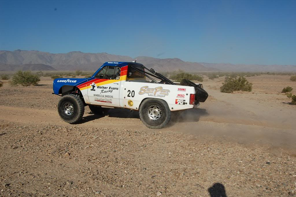 1989 Dodge Ram D150 Walker Evans NORRA 1000 Race Truck racing