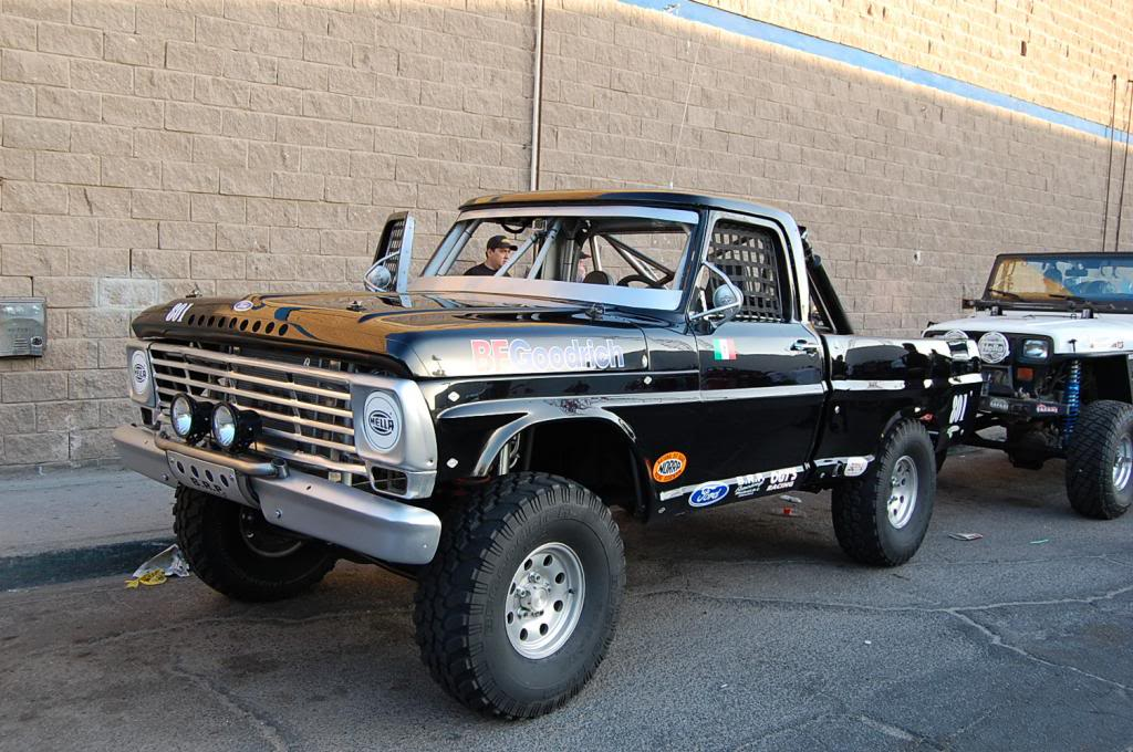 Bumpside Ford F100 NORRA 1000 Race Truck