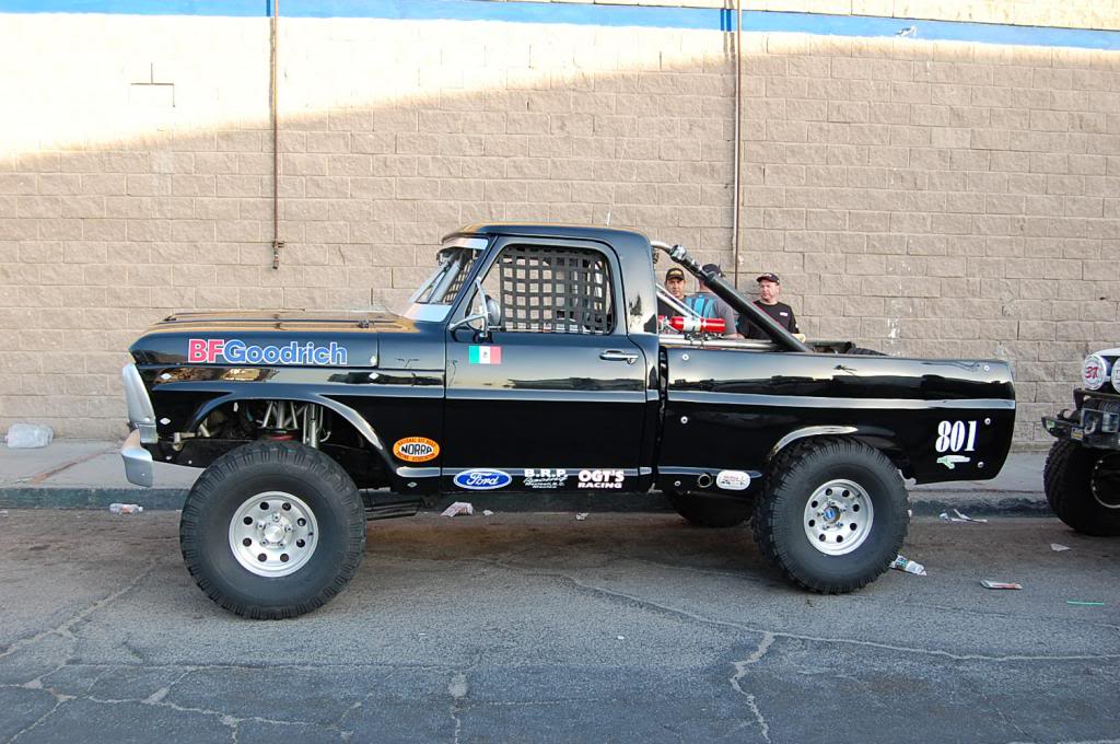 Bumpside Ford F100 NORRA 1000 Race Truck side