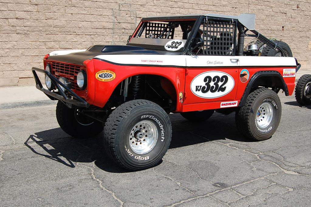 Early Bronco Chris Sullivan NORRA 1000 Race Truck