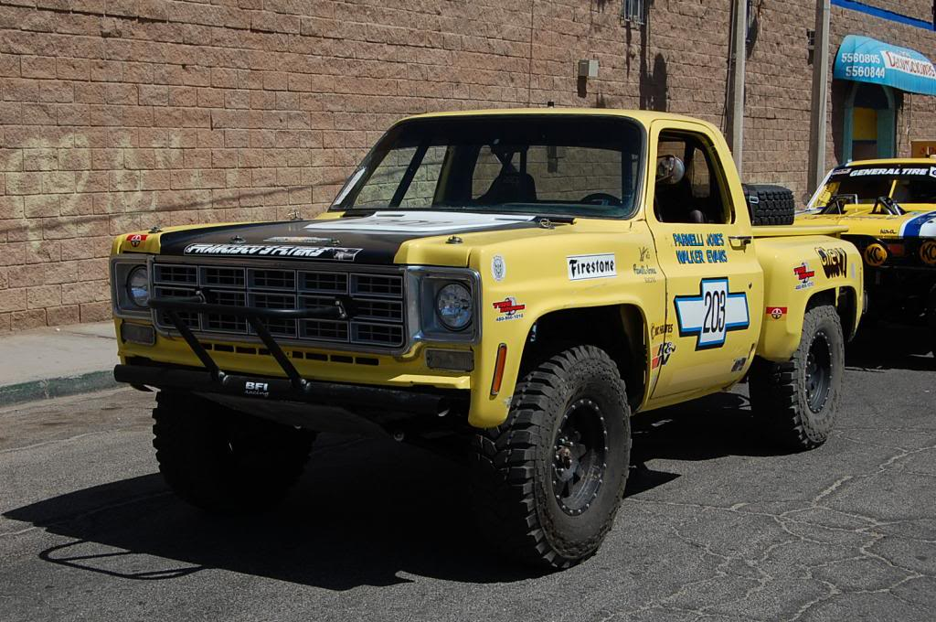 Parnelli Jones Walker Evans Chevy C10 Race Truck NORRA 1000