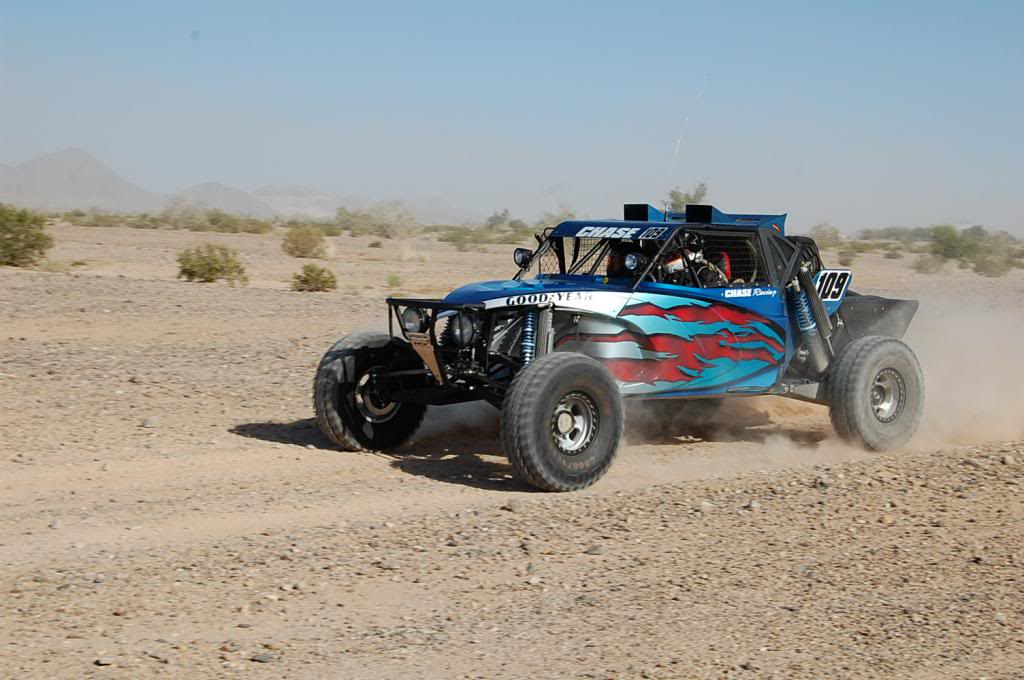 Penhal Diablo NORRA 1000 Evoluction Class Race Car Stuart Chase