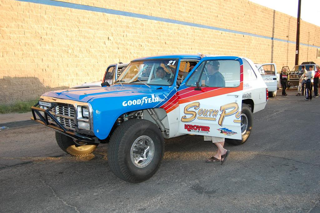 South Point Hotel Casino Michael Gaughan Dodge Ramcharger NORRA 1000 Race Truck