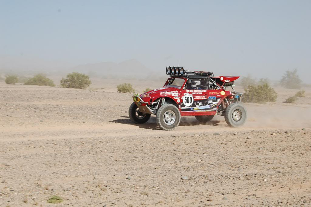 VW Bug Convertible Tom Bird NORRA 1000 Race Car