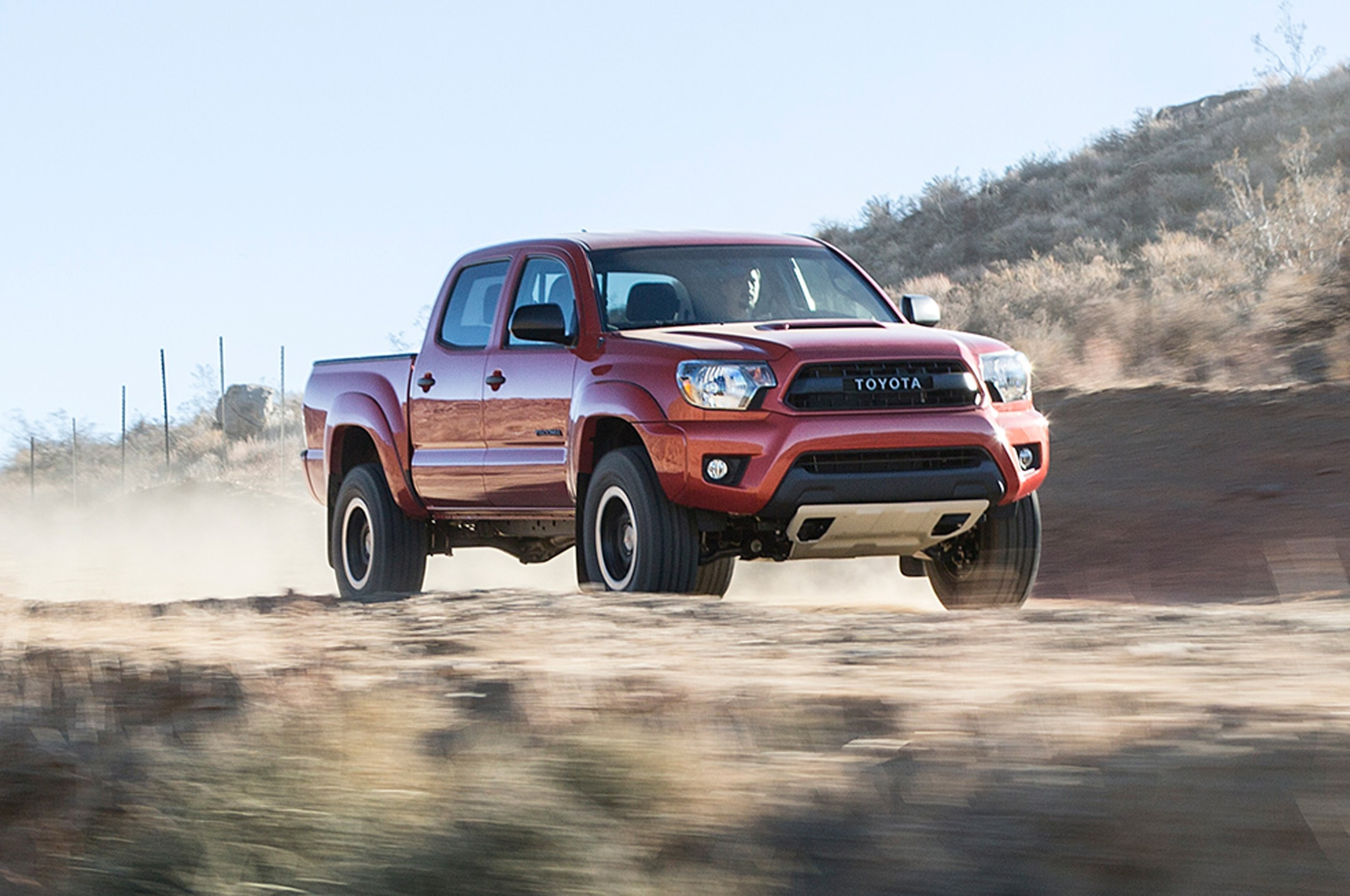 2015 Toyota Tacoma TRD Pro on road