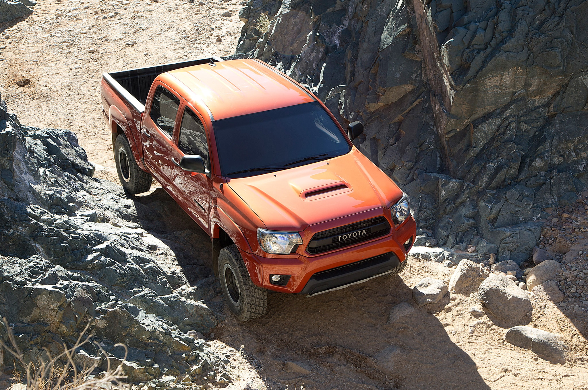 2015 Toyota Tacoma TRD Pro from above