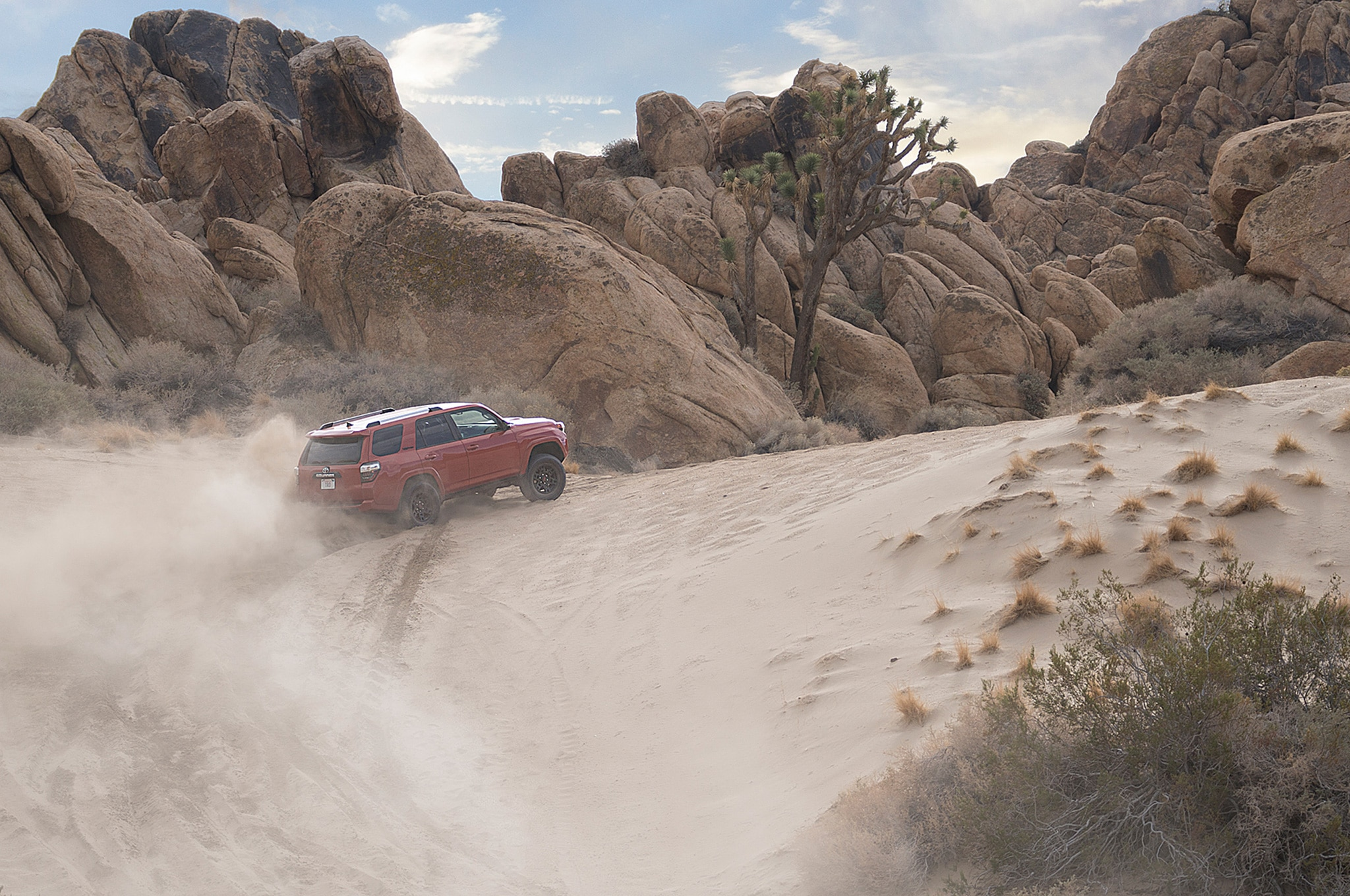 2015 Toyota 4Runner TRD Pro up hill