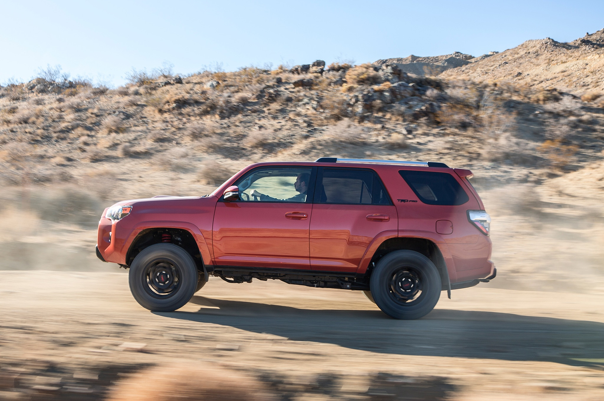 2015 Toyota 4Runner TRD Pro on trail